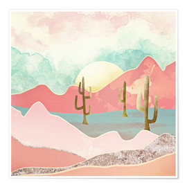 Poster  Desert Mountains - SpaceFrog Designs