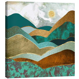 Canvas print  Golden Hills - SpaceFrog Designs