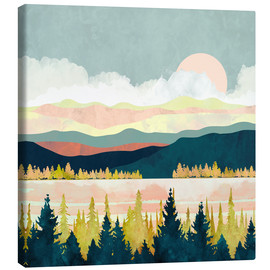 Canvas print  Lake Forest - SpaceFrog Designs