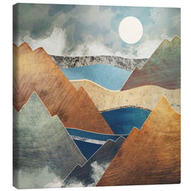 Canvas print  Mountain Pass II - SpaceFrog Designs