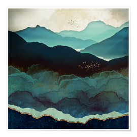 SpaceFrog Designs - Indigo Mountains