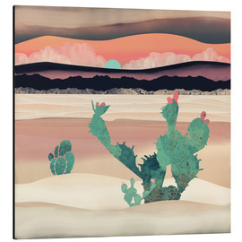 Aluminium print  Dawn in the desert - SpaceFrog Designs