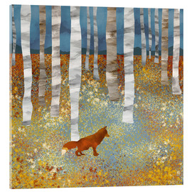 Acrylic glass  Autumn Fox - SpaceFrog Designs