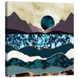 Canvas print  Desert Lake - SpaceFrog Designs