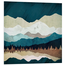 Foam board print  Fall Forest Night - SpaceFrog Designs