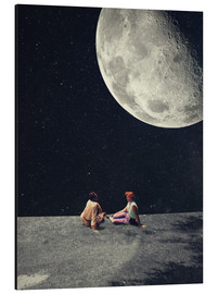 Aluminium print  I Gave You The Moon For A Smile - Frank Moth