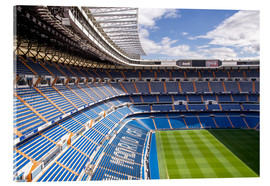 Acrylic print  Stadium in Madrid