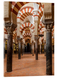 Acrylic print  The Mosque of Cordoba