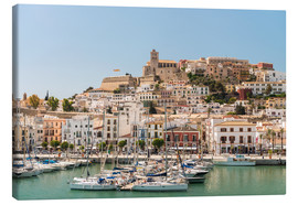 Canvas print  Harbor in Ibiza
