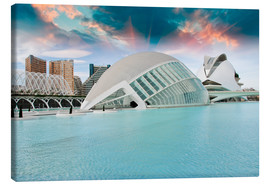 Canvas print  Modern Buildings of Valencia