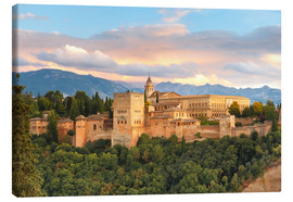 Canvas print  Alhambra with Comares tower