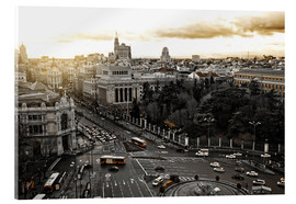 The city of Madrid in Spain