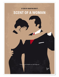 Premium poster No888 My Scent of a Woman minimal movie poster