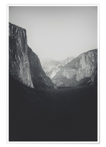 Premium poster Yosemite Valley VI