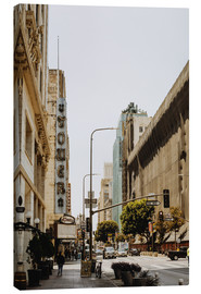 Canvas print  Downtown Los Angeles III - Pascal Deckarm