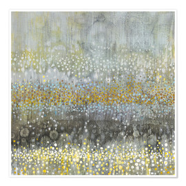 Premium poster  Rain abstract III - Danhui Nai