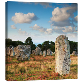 Canvas  Megaliths in Carnac