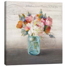 Canvas  French Cottage Bouquet II - Danhui Nai
