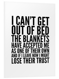 Creative Angel - I Can't Get Out of Bed the Blankets Have Accepted Me As One of Their Own