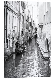 Canvas  Gondola in Venice