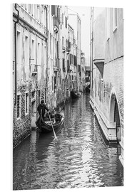 Foam board print  Gondola in Venice