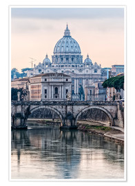 Premium poster  The Basilica of the Vatican