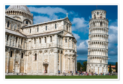 Premium poster Leaning Tower of Pisa