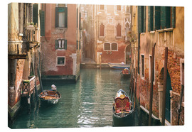 Canvas print  Canal in Venice