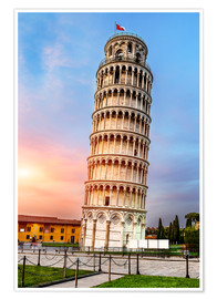 Premium poster Pisa, place of miracles