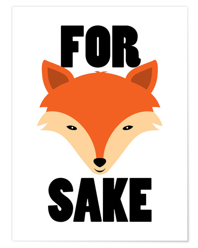 Premium poster For Fox Sake