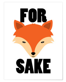 Premium poster  For Fox Sake - Creative Angel