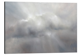 Aluminium print  grey cloud - Annette Schmucker