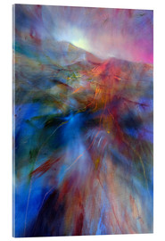 Acrylic print  in the color country - Annette Schmucker