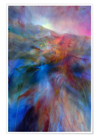 Poster  in the color country - Annette Schmucker