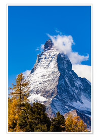 Premium poster Matterhorn in Switzerland