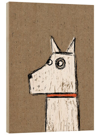 Wood print  West Highland Terrier - Nic Squirrell