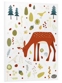 Forex  Pretty deer in the autumn forest - Nic Squirrell