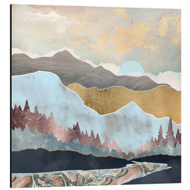 Alu-Dibond  Wintery mountain range - SpaceFrog Designs