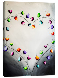 Canvas print  Blooming love - Yannick Leniger
