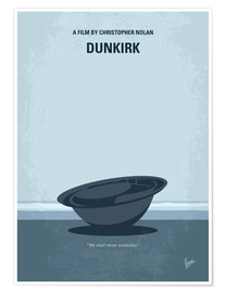 Premium poster No905 My Dunkirk minimal movie poster