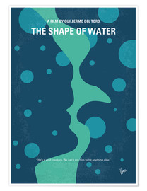 Premium poster No902 My The Shape of Water minimal movie poster