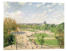 Camille Pissarro - The Garden of the Tuileries on a Spring Morning