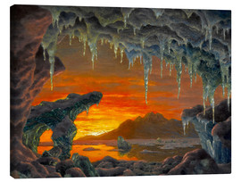 Canvas print  Arctic grotto - Ivan Fedorovich Choultse