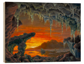 Wood  Arctic grotto - Ivan Fedorovich Choultse