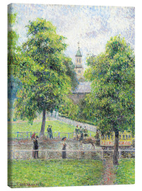 Canvas print  Saint Anne's Church in Kew, London - Camille Pissarro