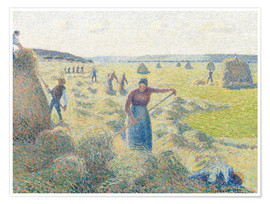 Premium poster The haymaking, Eragny