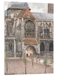 Forex  Church of Saint Jacques in Dieppe - Camille Pissarro
