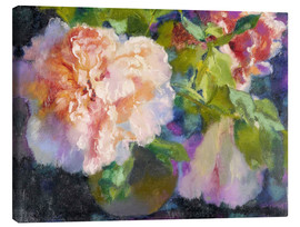 Canvas print  peonies - Augusto Giacometti