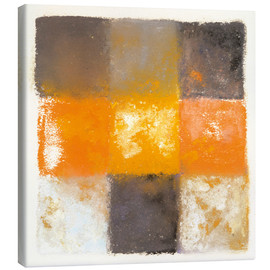 Augusto Giacometti - Abstraction in white, orange and black