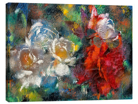 Canvas print  roses - Augusto Giacometti